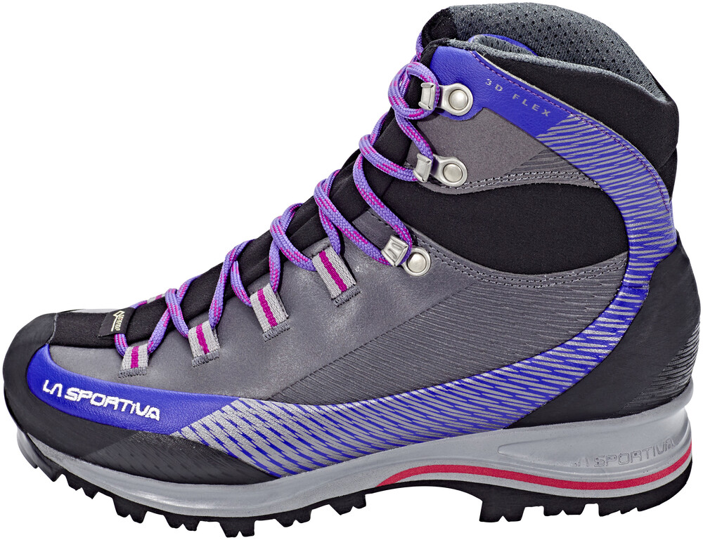 La Sportiva Trango TRK Leather GTX Shoes Women Iris Blue/Purple 37 2018 Trekking- & Wanderschuhe